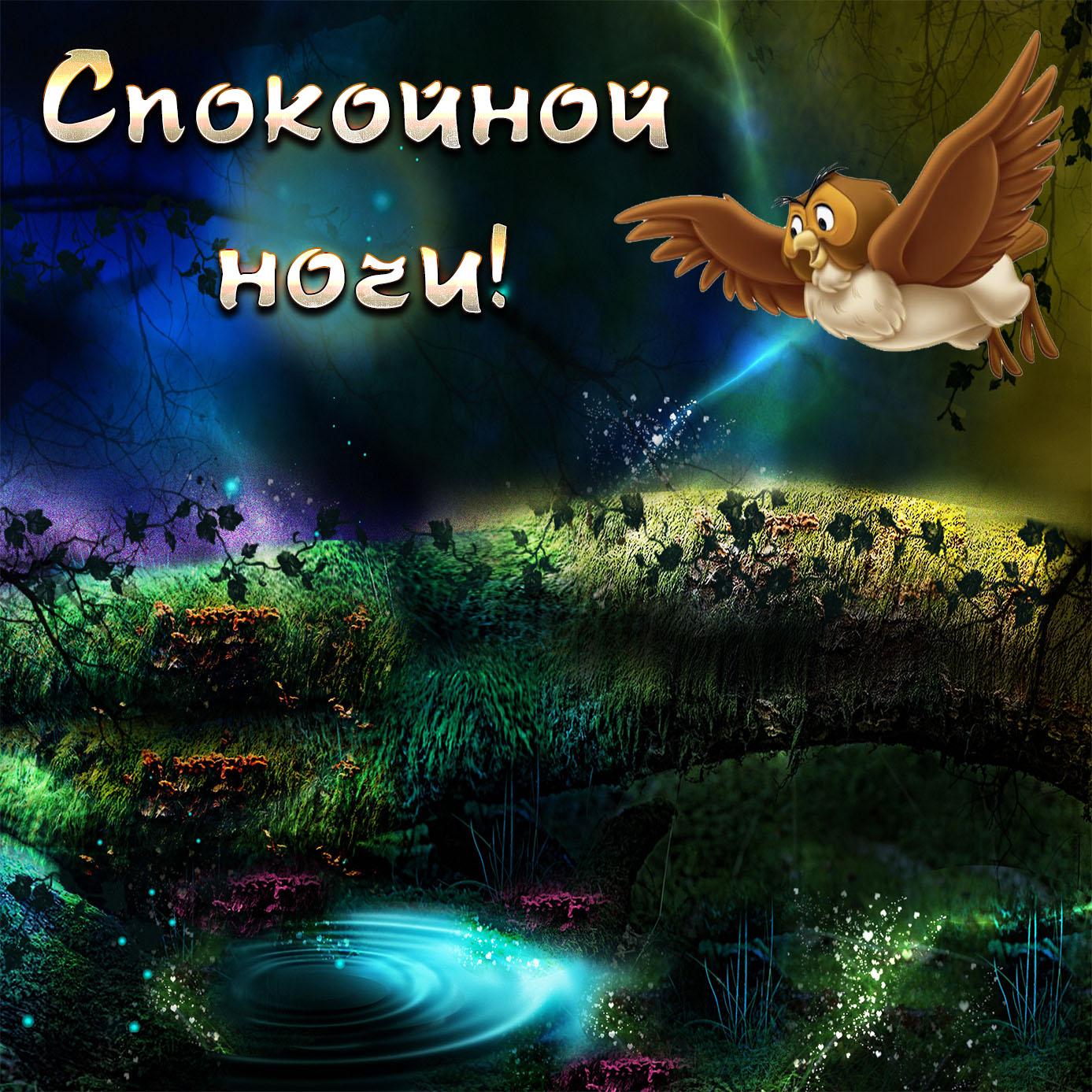 Картинки спокойной ночи с надписью красивая природа, ночи ретро картинки